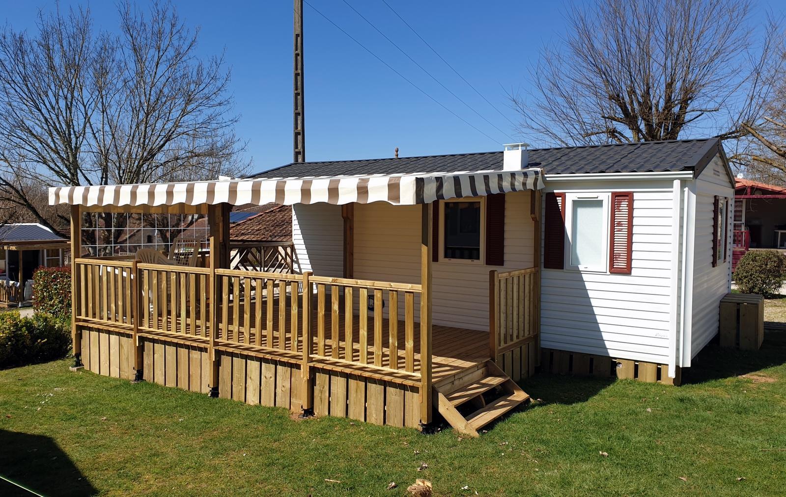 Location - Cottage Loubressac - 2 Chambres - Camping Sites et Paysages Le Ventoulou