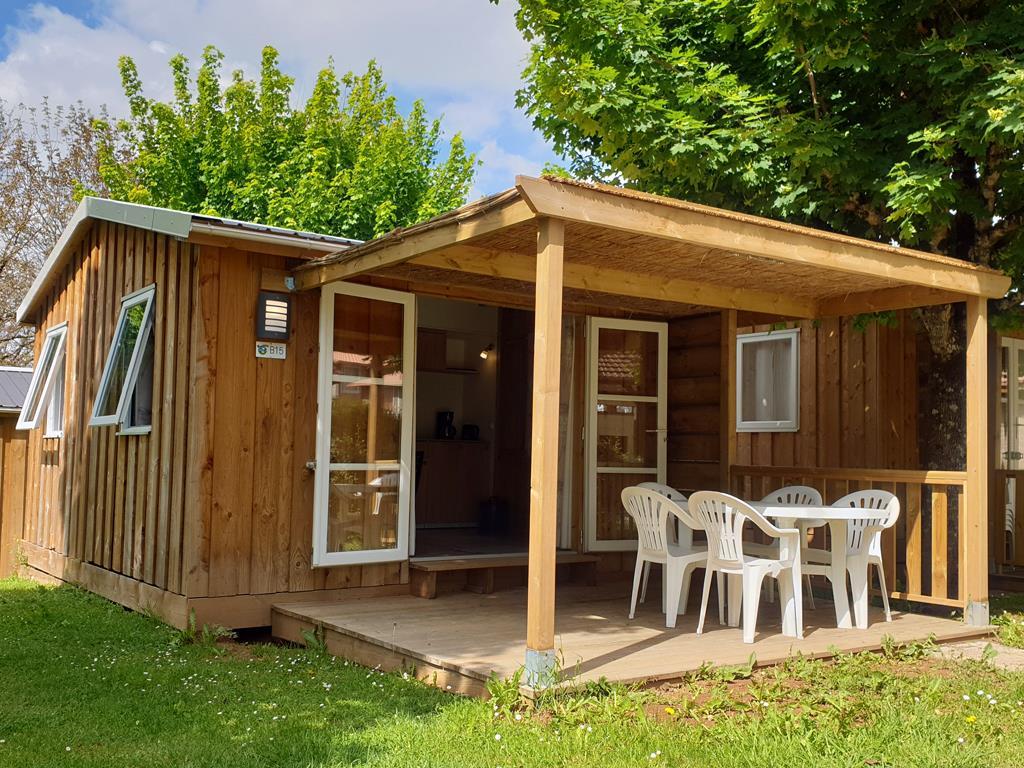 Location - Cottage Robinson - 2 Chambres - Camping Sites et Paysages Le Ventoulou