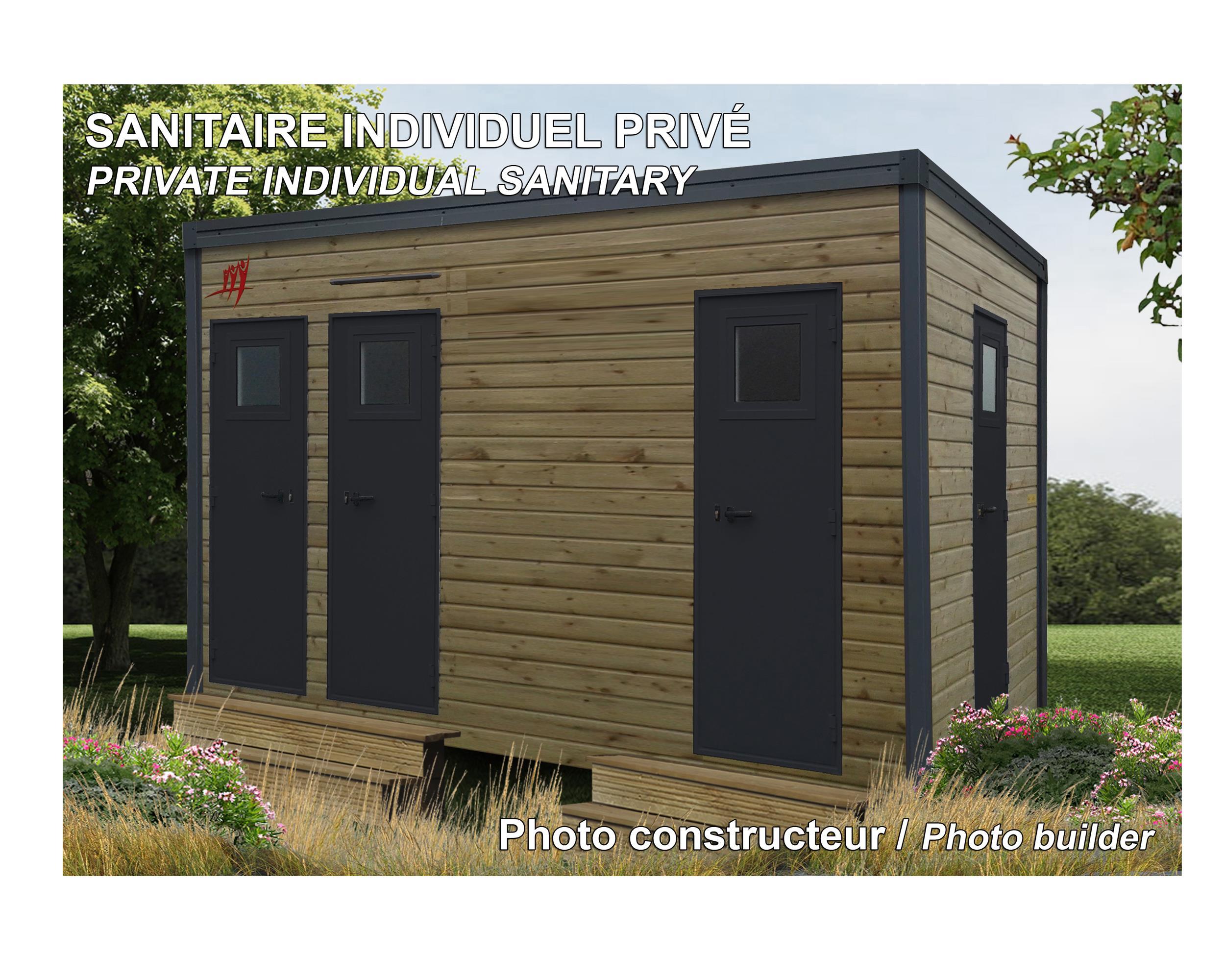 Emplacement - Emplacement Prestige 140 M² Avec Sanitaire Individuel Privé - Camping Sites et Paysages Le Ventoulou