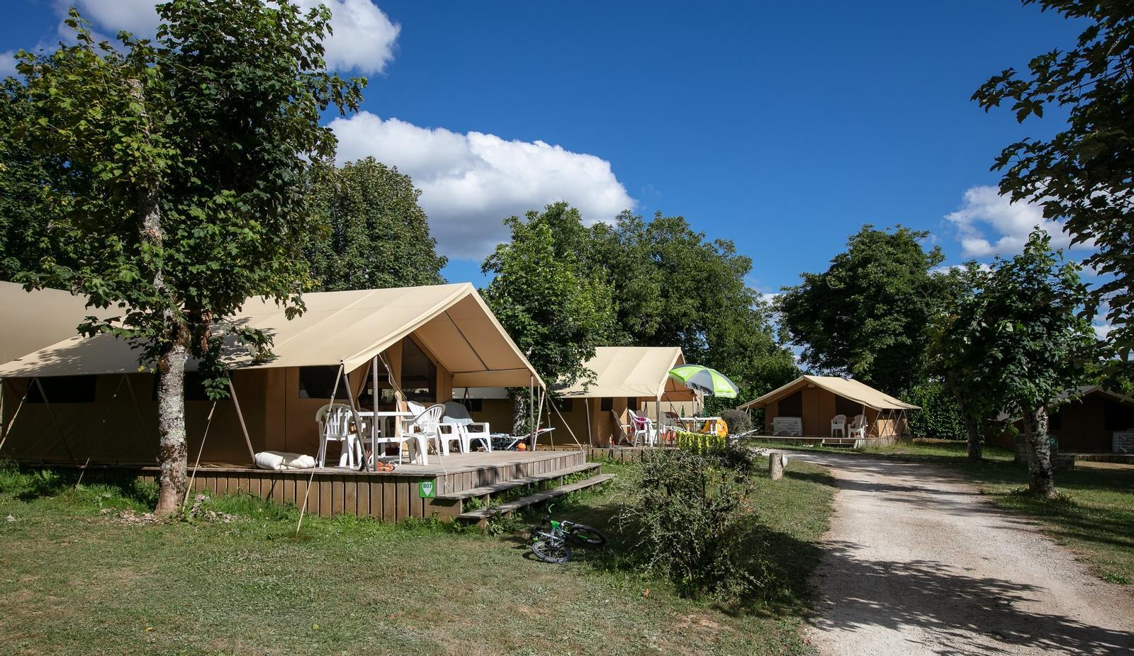 Camping Sites et Paysages le Ventoulou, Thegra, Lot