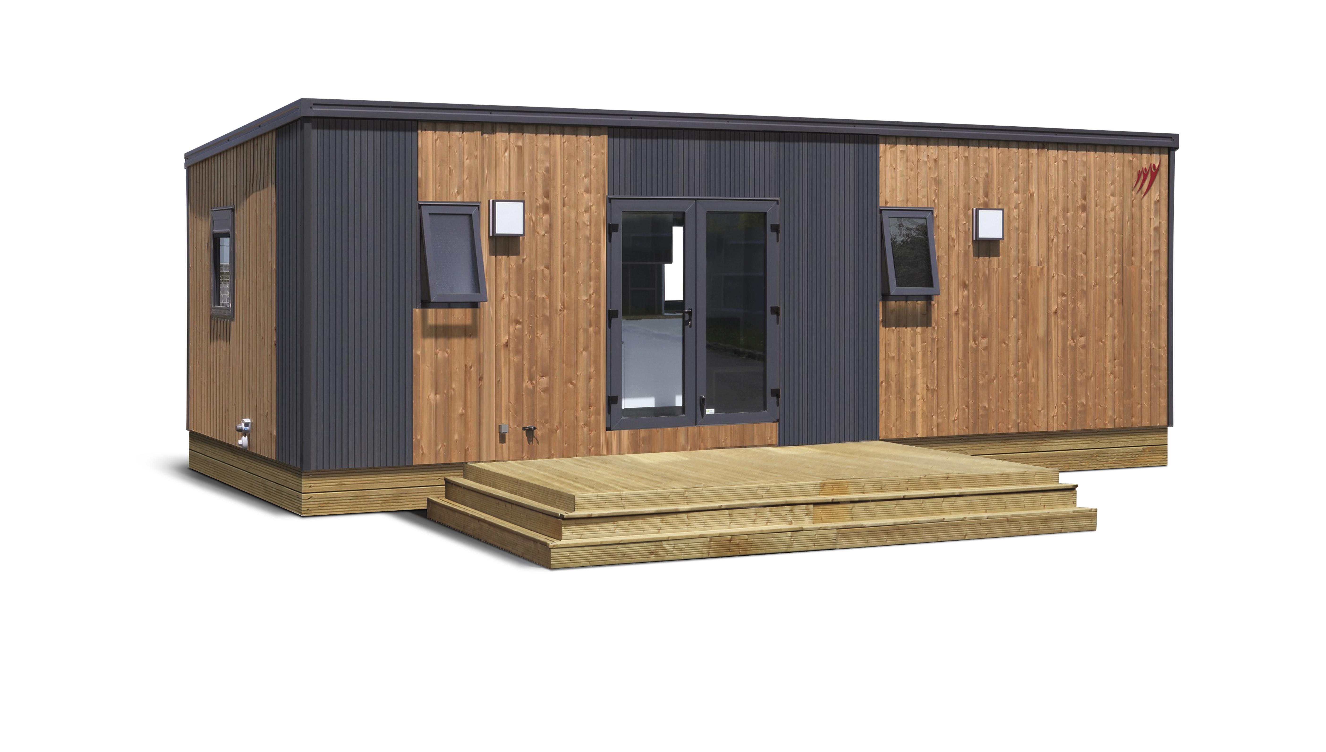 Location - Cottage Terrasses Du Causse (Pmr) - 2 Chambres - Camping Sites et Paysages Le Ventoulou