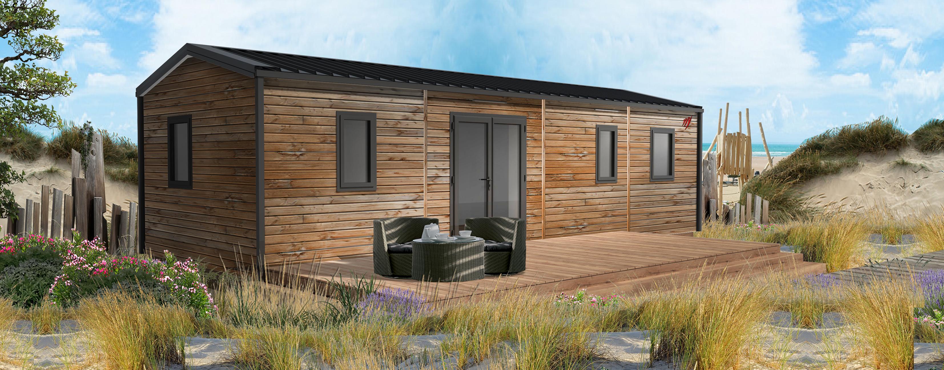 Location - Cottage Les P'tit Quercynois - 2 Chambres - 2 Salles De Bain - Camping Sites et Paysages Le Ventoulou