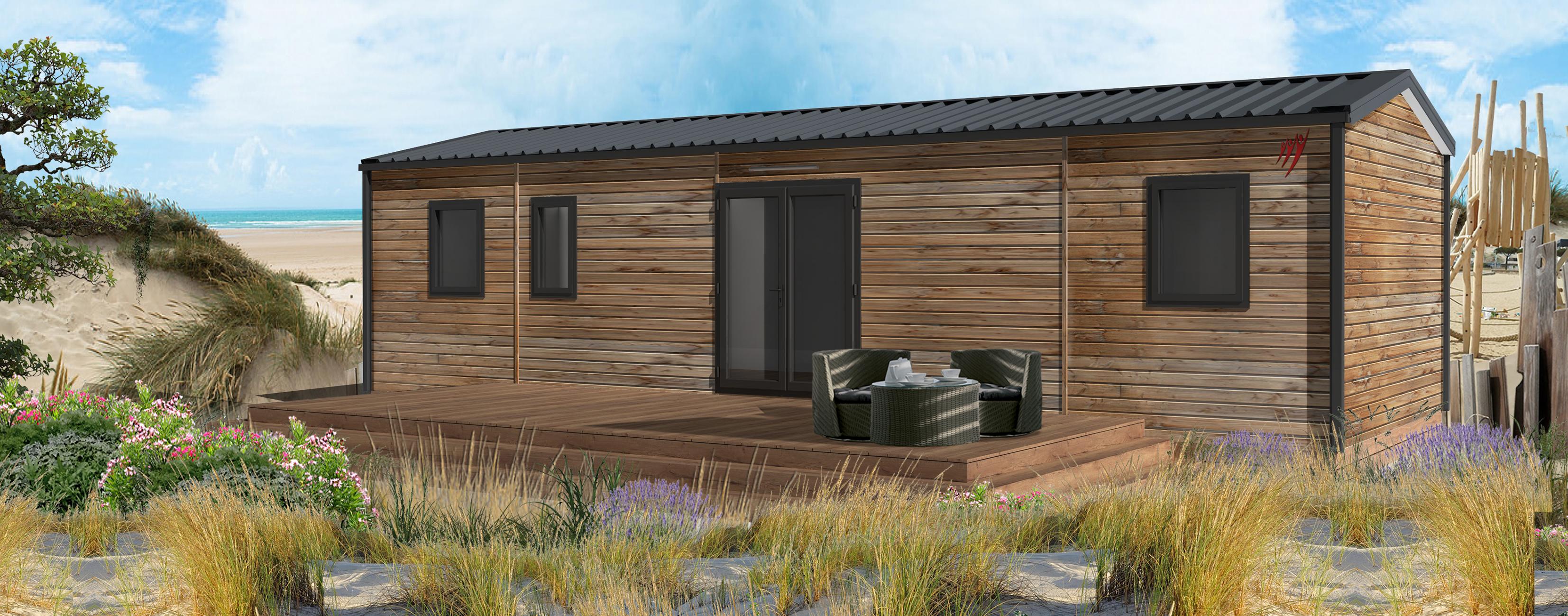 Location - Cottage Le P'tit Quercynois - 3 Chambres - 2 Salles De Bain - Camping Sites et Paysages Le Ventoulou