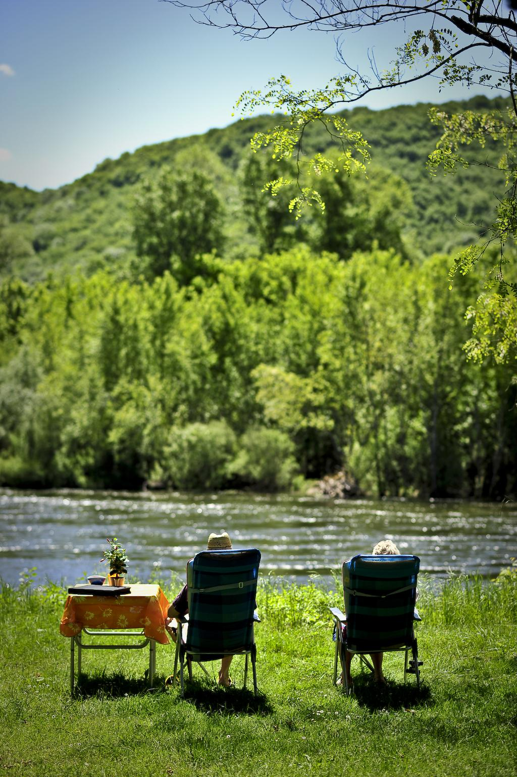 Camping les Granges, Vayrac, Lot