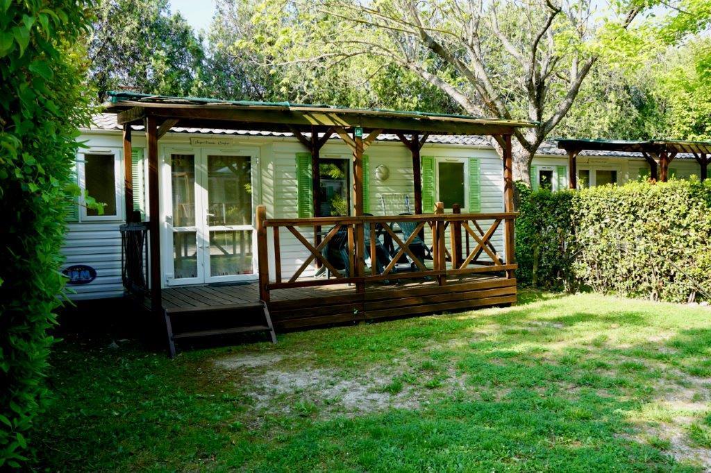 Location - Mobil-Home 4/5 Pers Climatisé - Camping Mas de Nicolas