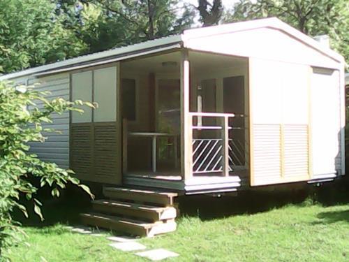 Location - Mobil-Home 6 Pers Climatisé - Camping Mas de Nicolas