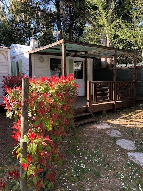 Location - Mobil-Home 2 Pers Climatisé - Camping Mas de Nicolas
