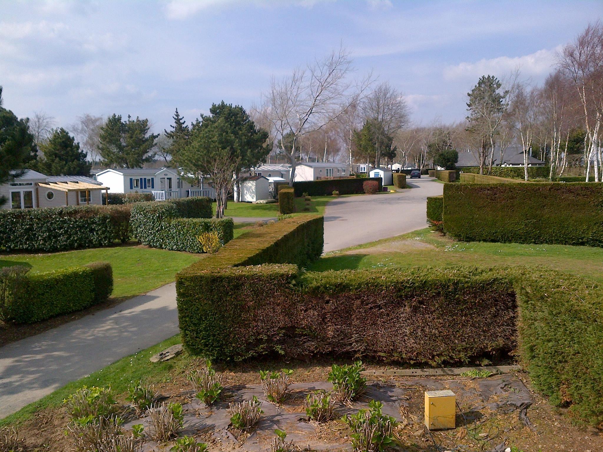 Camping les Jardins de Kergal, Guidel, Morbihan