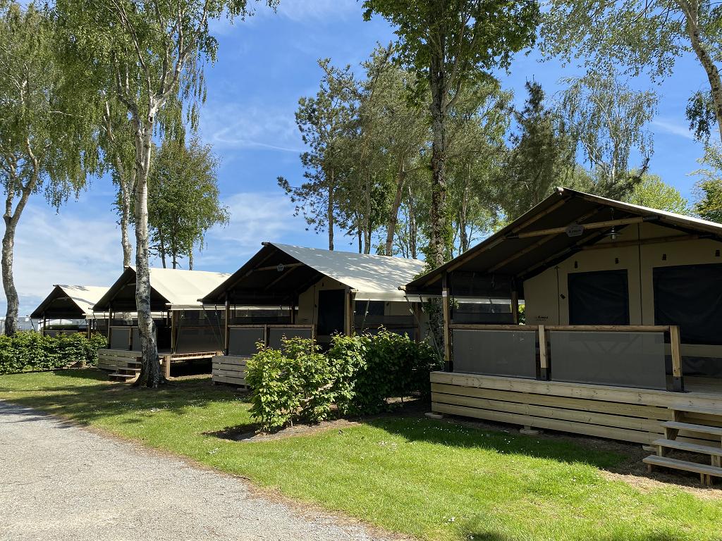 Location - Bungalow Free Flower 2 Chambres - Camping Les Jardins de Kergal