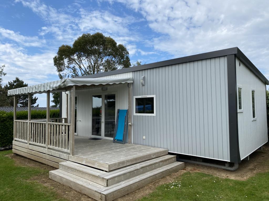 Location - Mobilhome Premium (2 Chambres, 2 Salles De Bain) Avec Terrasse 40 M² - Camping Les Jardins de Kergal