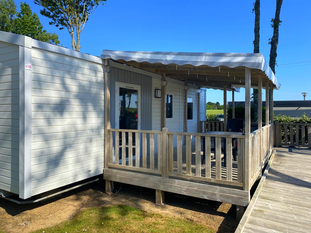 Location - Mobilhome Confort Pmr Adapté Aux Personnes À Mobilité Réduite (2 Chambres) Avec Terrasse 25 À 31 M² - Camping Les Jardins de Kergal