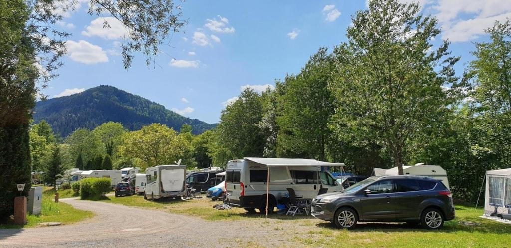 Pitch Motorhome/Caravan