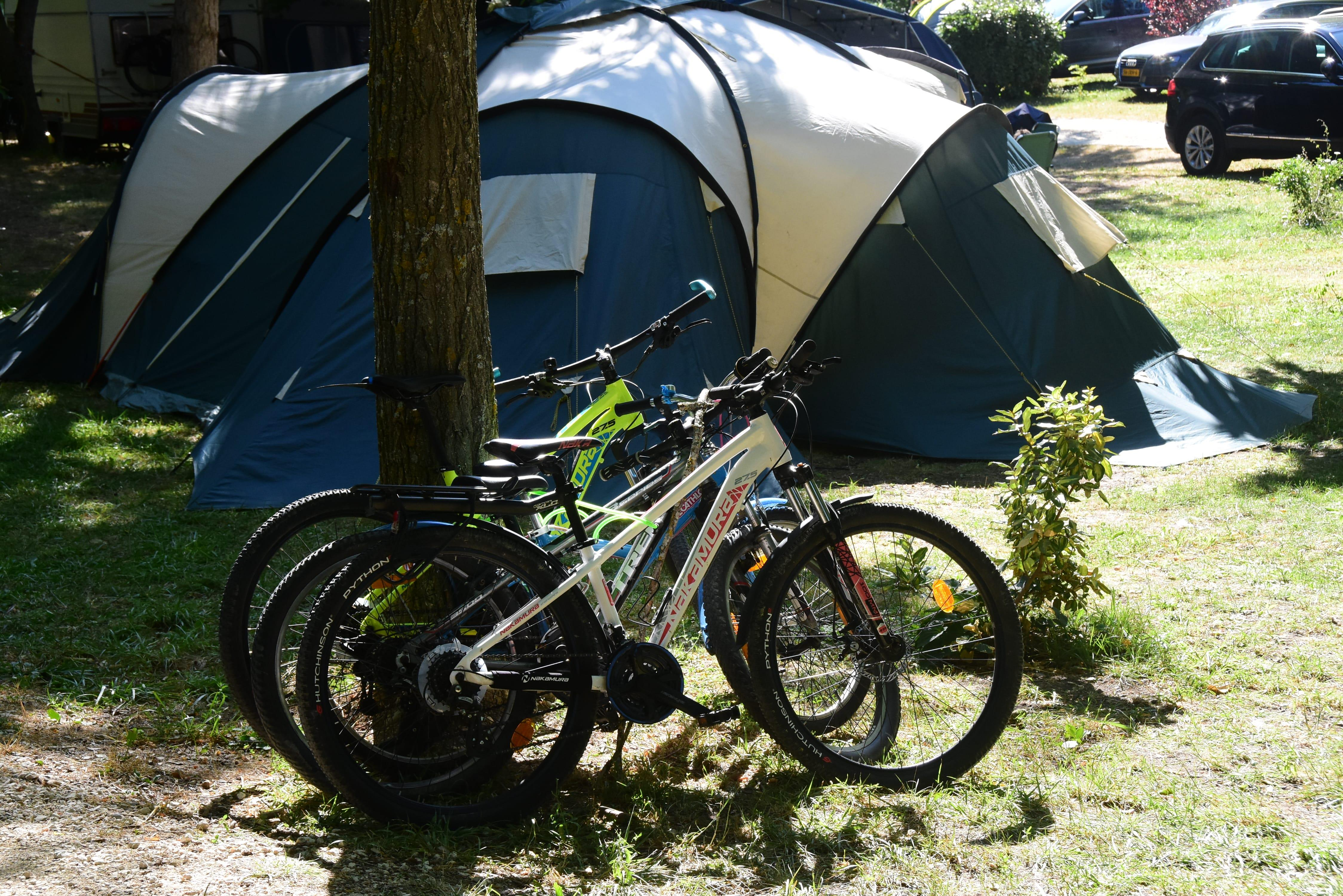 Standplaats - Campingplaats Met Elektriciteit - Sites et Paysages La Source du Jabron