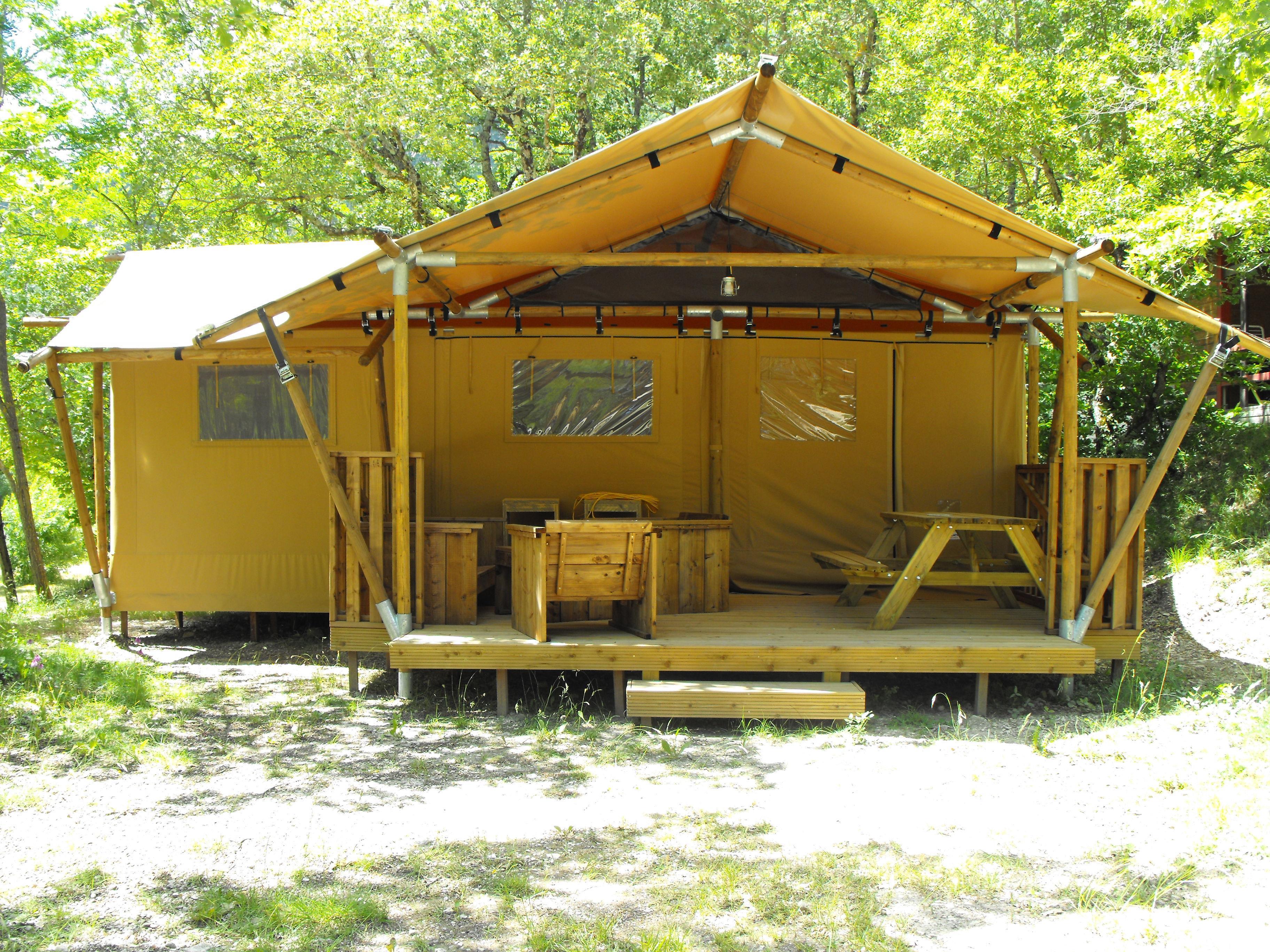 Location - Premium Lodge - Camping Sites et Paysages La Source du Jabron