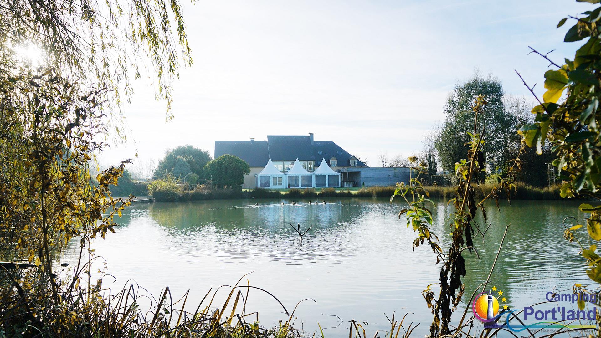 Camping Port'land, Port-en-Bessin-Huppain, Calvados