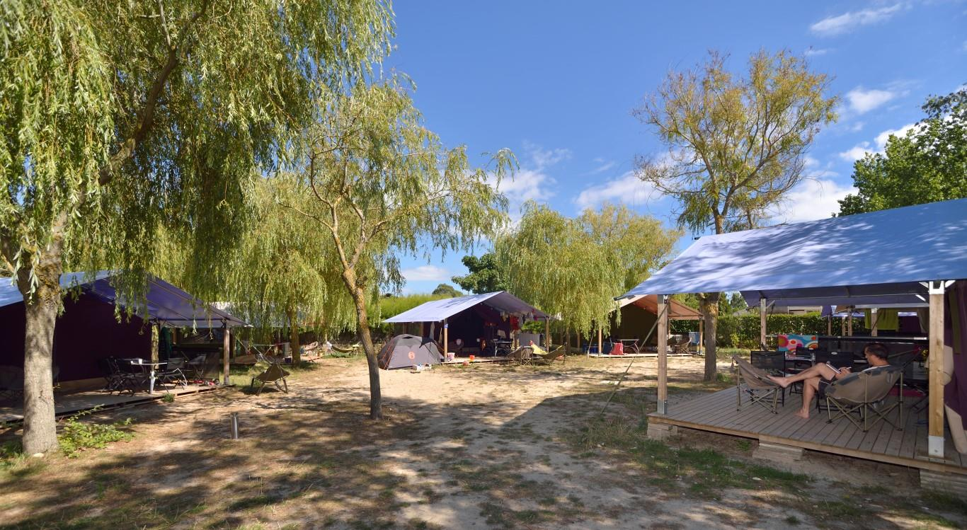 Location - Freeflower Eco 37M² (2 Chambres) Dont Terrasse Couverte De 13M² - Sans Sanitaires - Flower Camping Le Bois d'Amour