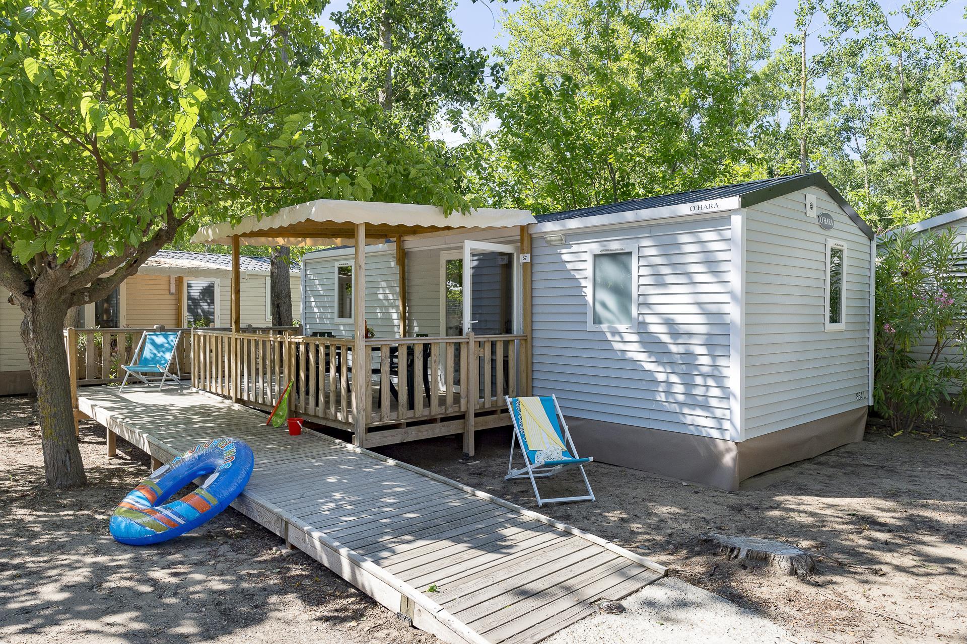 Location - Cottage 2 Chambres Climatisé *** Adapté Aux Personnes À Mobilité Réduite - Camping Sandaya Les Vagues