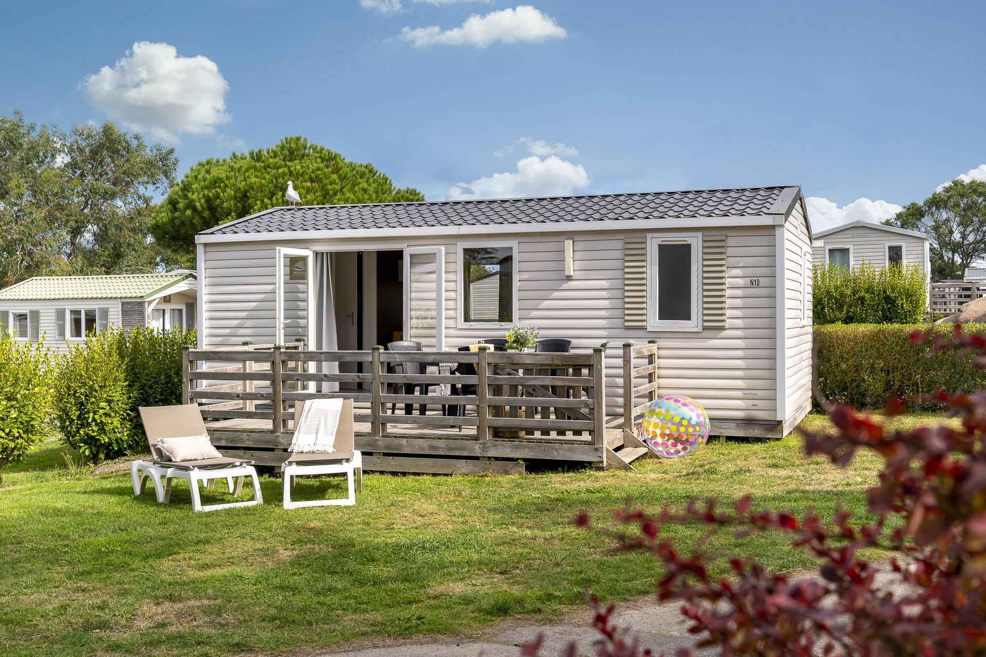 Location - Cottage 2 Chambres *** - Camping Sandaya Le Ranolien