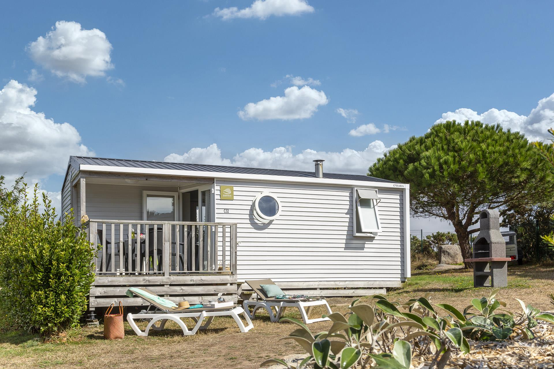 Location - Cottage 2 Chambres **** - Camping Sandaya Le Ranolien