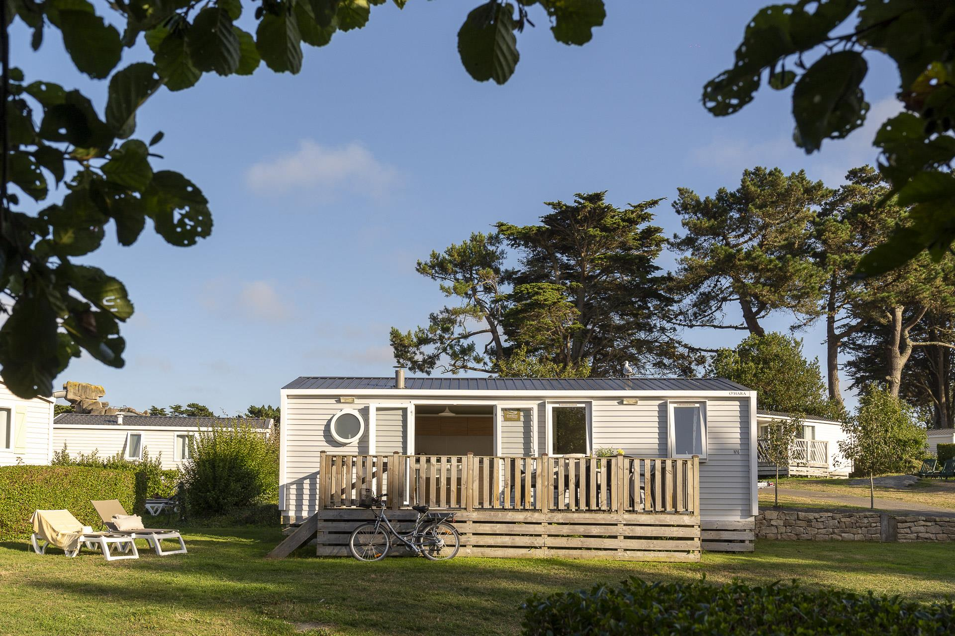 Location - Cottage 3 Chambres *** - Camping Sandaya Le Ranolien