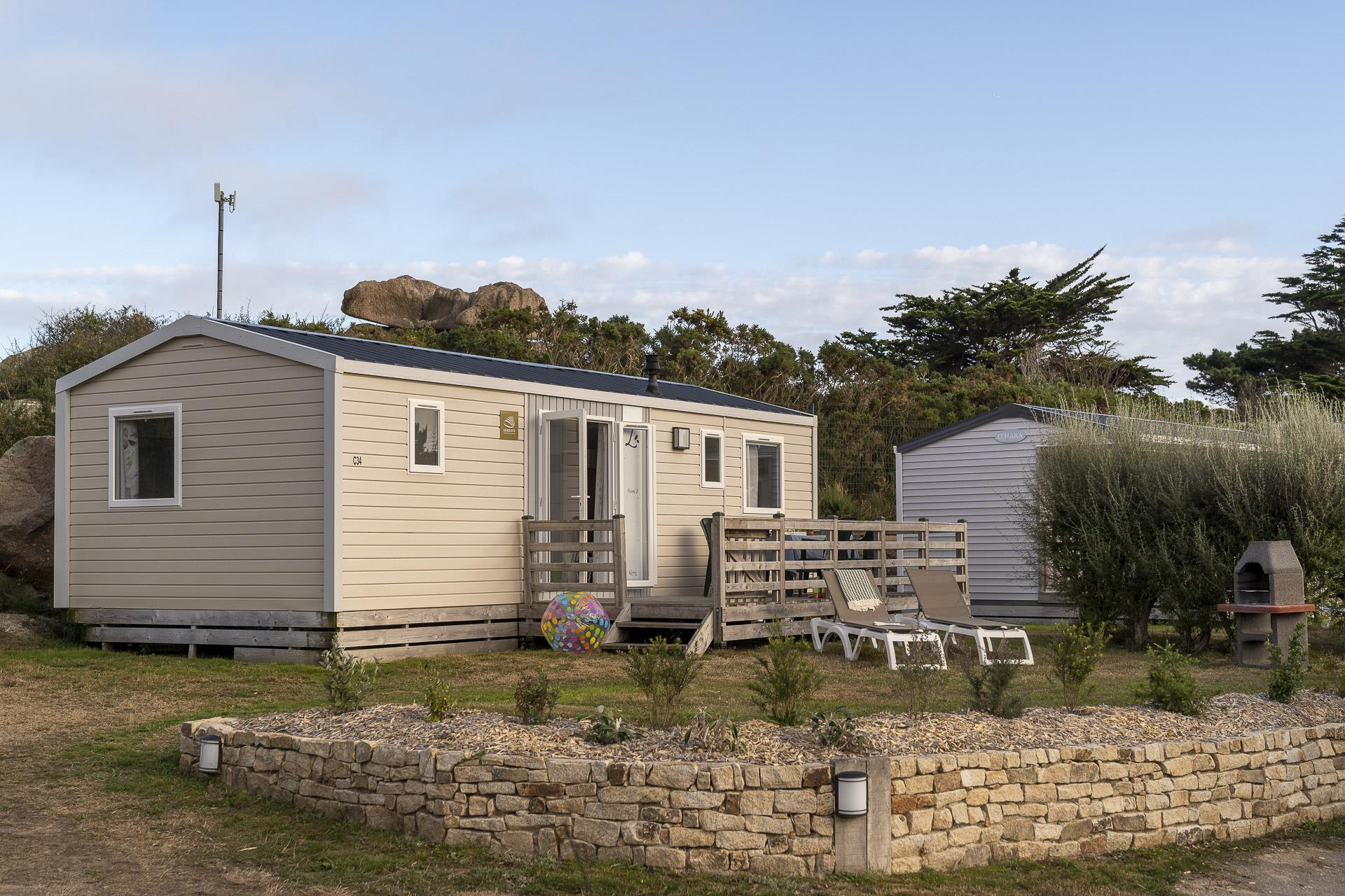 Location - Cottage 3 Chambres **** - Camping Sandaya Le Ranolien