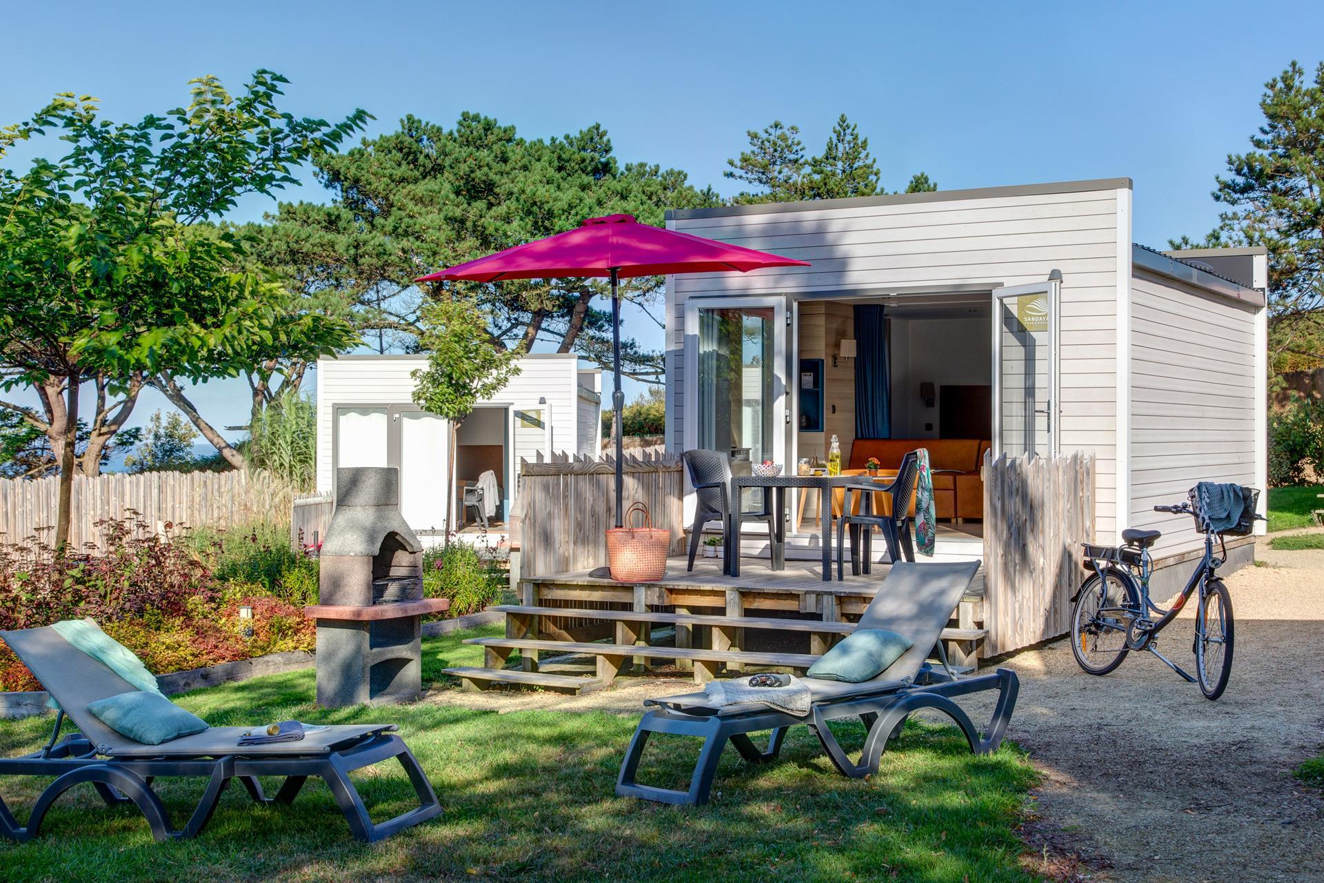 Location - Cottage 1 Chambre Premium - Camping Sandaya Le Ranolien