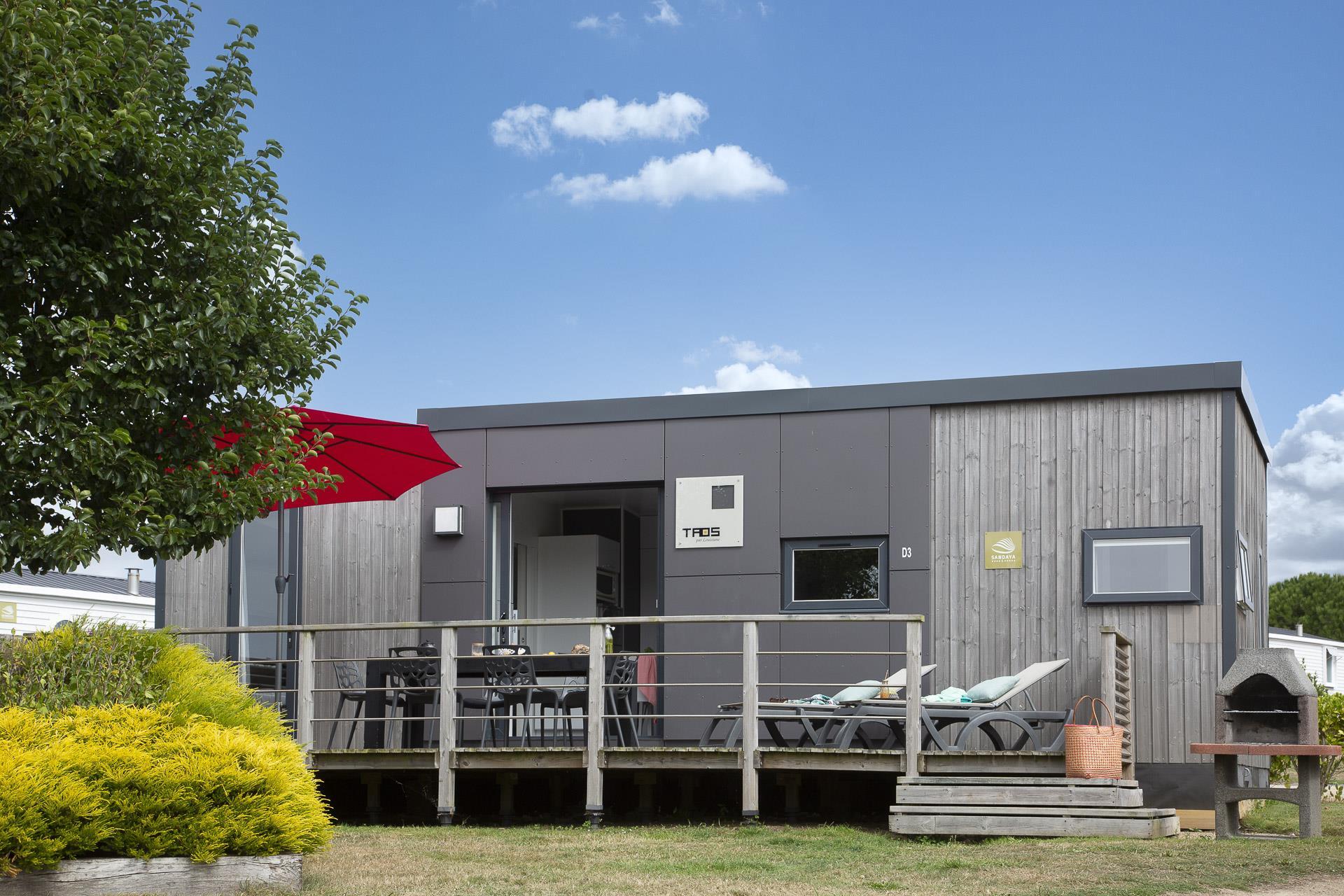 Location - Cottage Grand Large 3 Chambres Premium - Camping Sandaya Le Ranolien