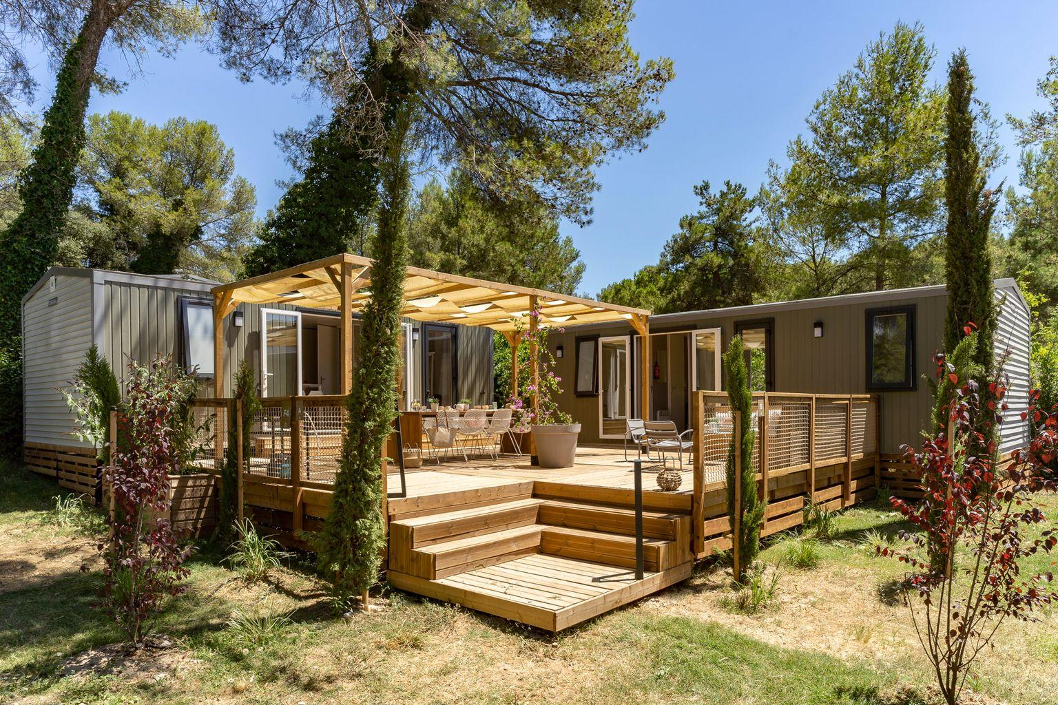 Location - Cottage Friends 5 Chambres **** - Camping Sandaya Le Ranolien