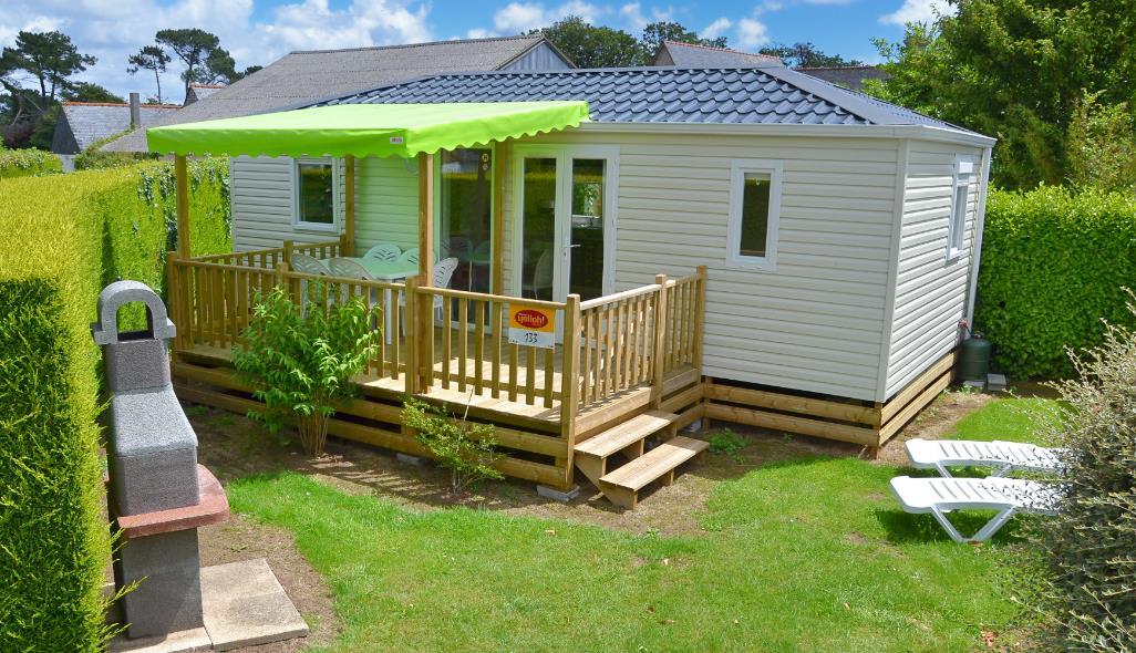 Location - Cottage Baby*** (2 Chambres - 2 Sdb) - Yelloh! Village L'Océan Breton