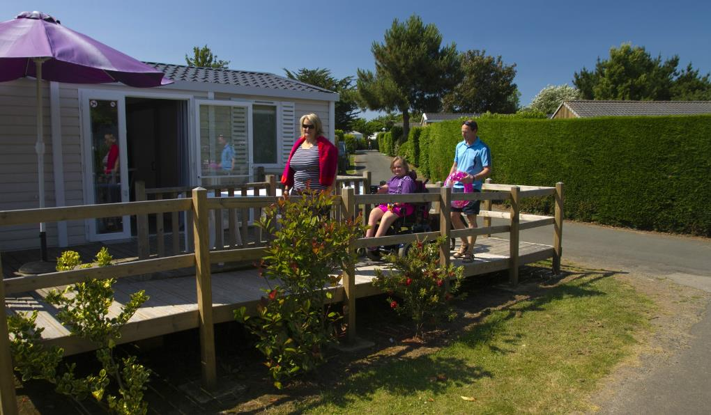 Location - Cottage Helios*** (2 Chambres) - Adapté Aux Personnes À Mobilité Réduite - Yelloh! Village L'Océan Breton