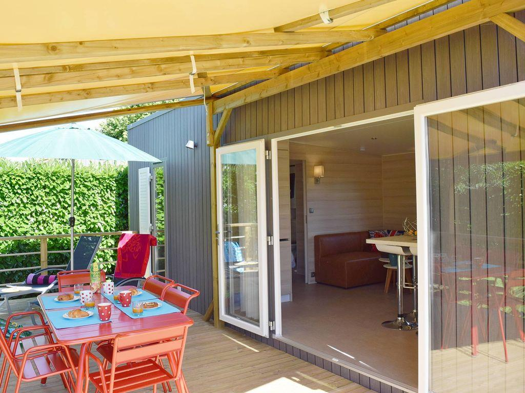 Location - Cottage Ria Premium (2 Chambres - 2 Salles De Bain) - Yelloh! Village L'Océan Breton