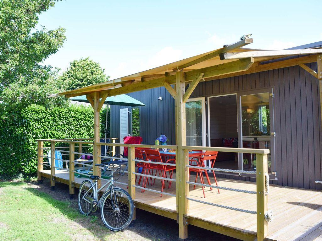 Location - Cottage Jardin Premium (3 Chambres - 2 Salles De Bain) - Yelloh! Village L'Océan Breton