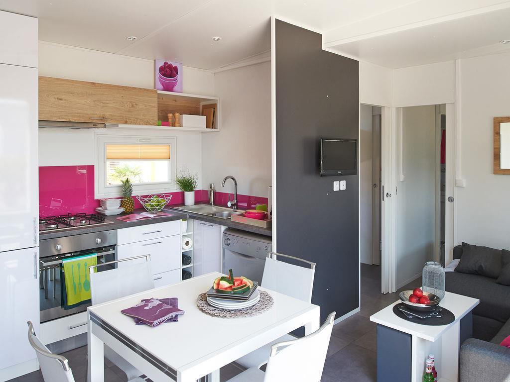 Location - Cottage Ria Premium (3 Chambres - 2 Salles De Bain) - Yelloh! Village L'Océan Breton