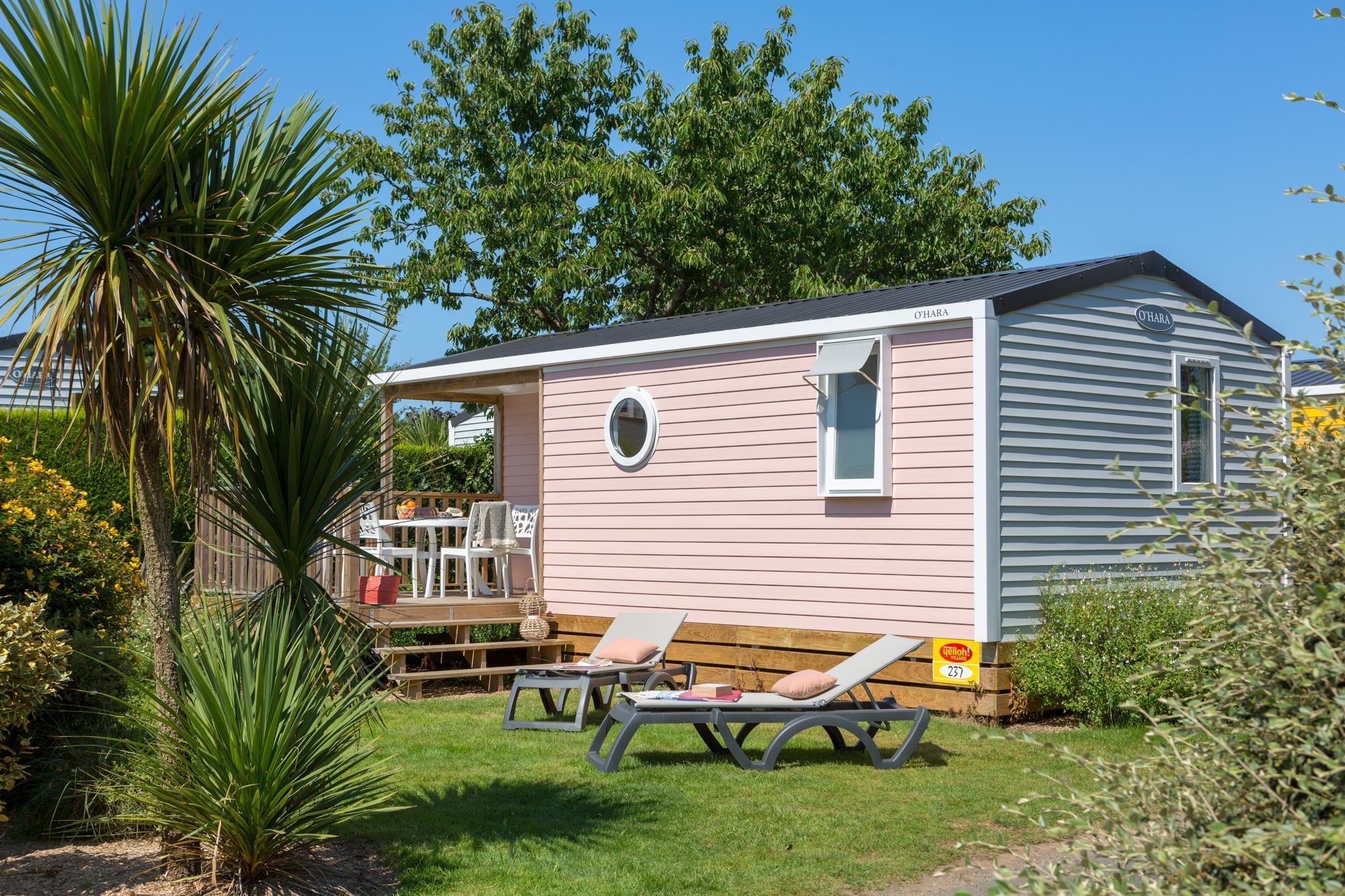Location - Cottage*** (2 Chambres) - Terrasse Couverte - Yelloh! Village L'Océan Breton