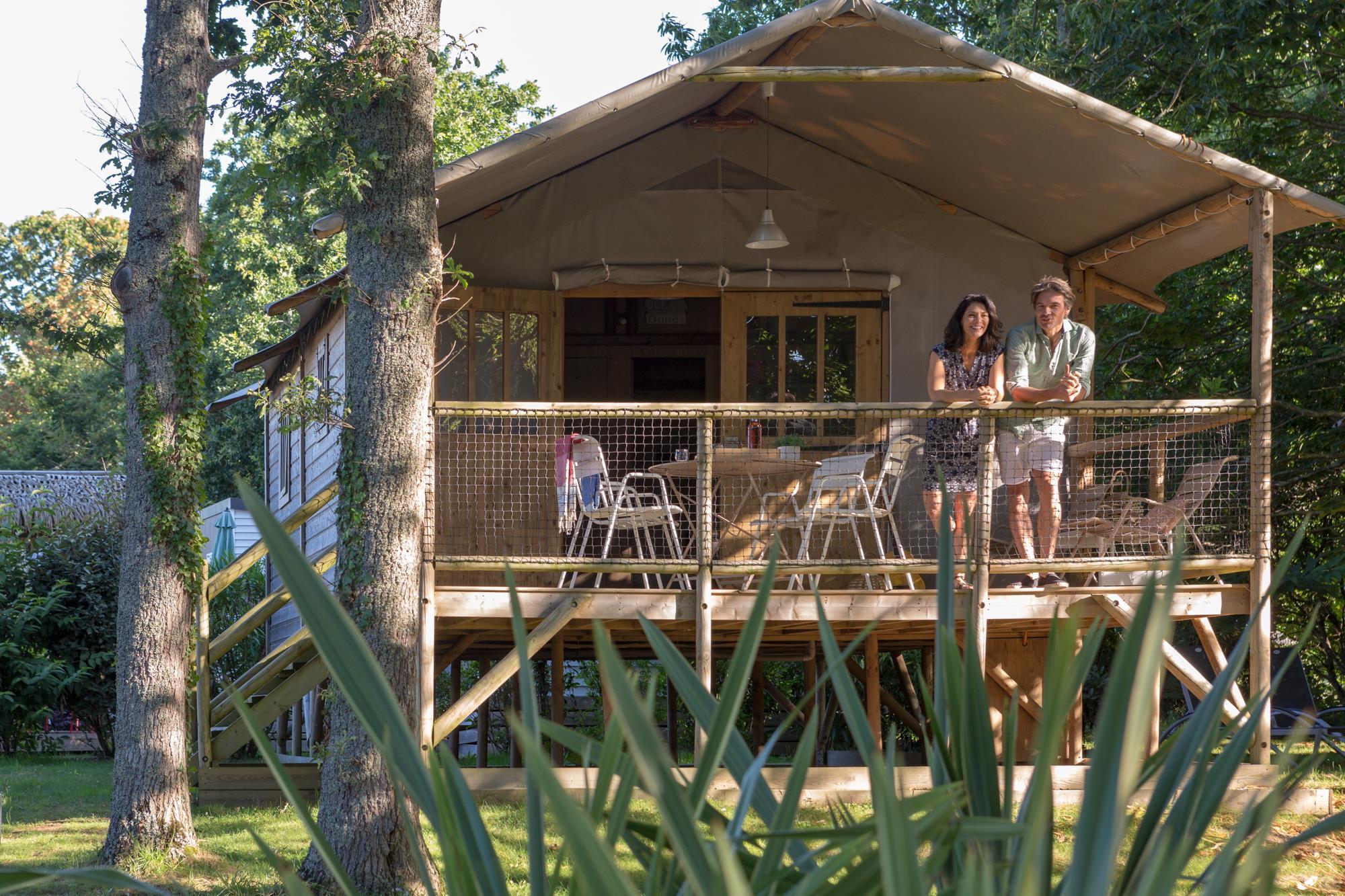 Location - Cabane Sur Pilotis Insolite (2 Chambres) - Yelloh! Village L'Océan Breton