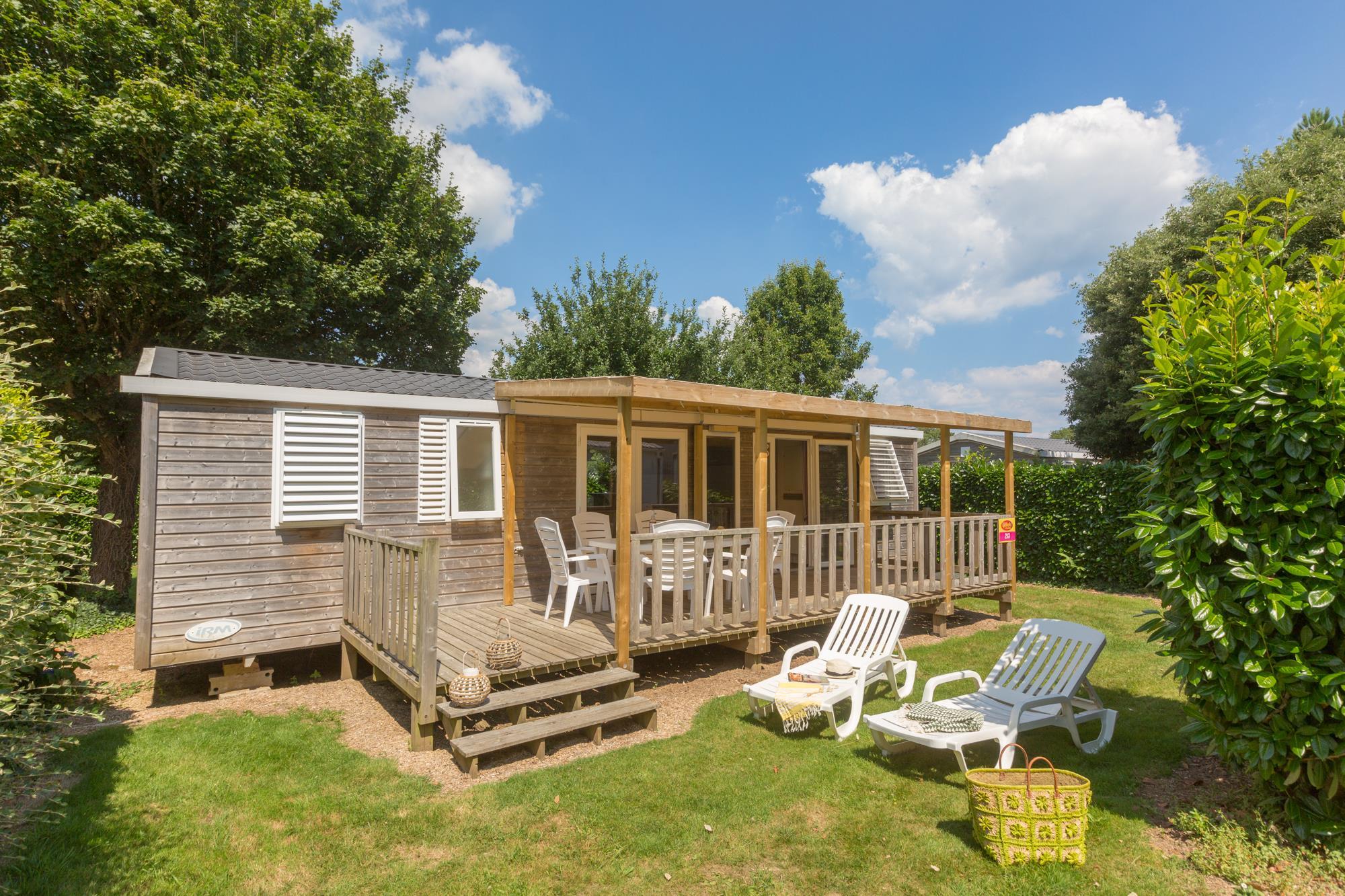 Location - Cottage**** (3 Chambres - 2 Salles De Bain) - Yelloh! Village L'Océan Breton