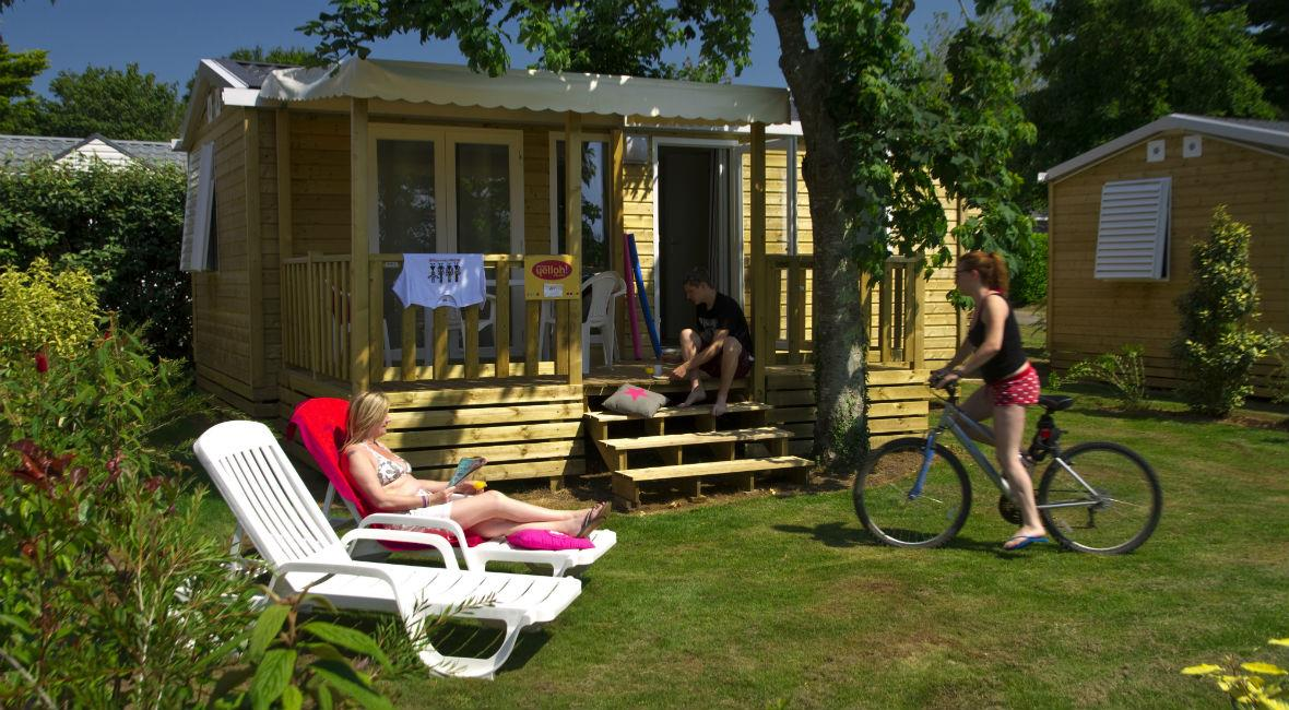 Location - Cottage*** 2 Chambres - Yelloh! Village L'Océan Breton