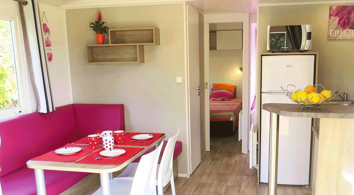 Location - Cottage **** 2 Chambres Terrasse Couverte - Yelloh! Village L'Océan Breton