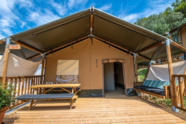 Location - Tente 2 Chambres - Arena One 99 Glamping