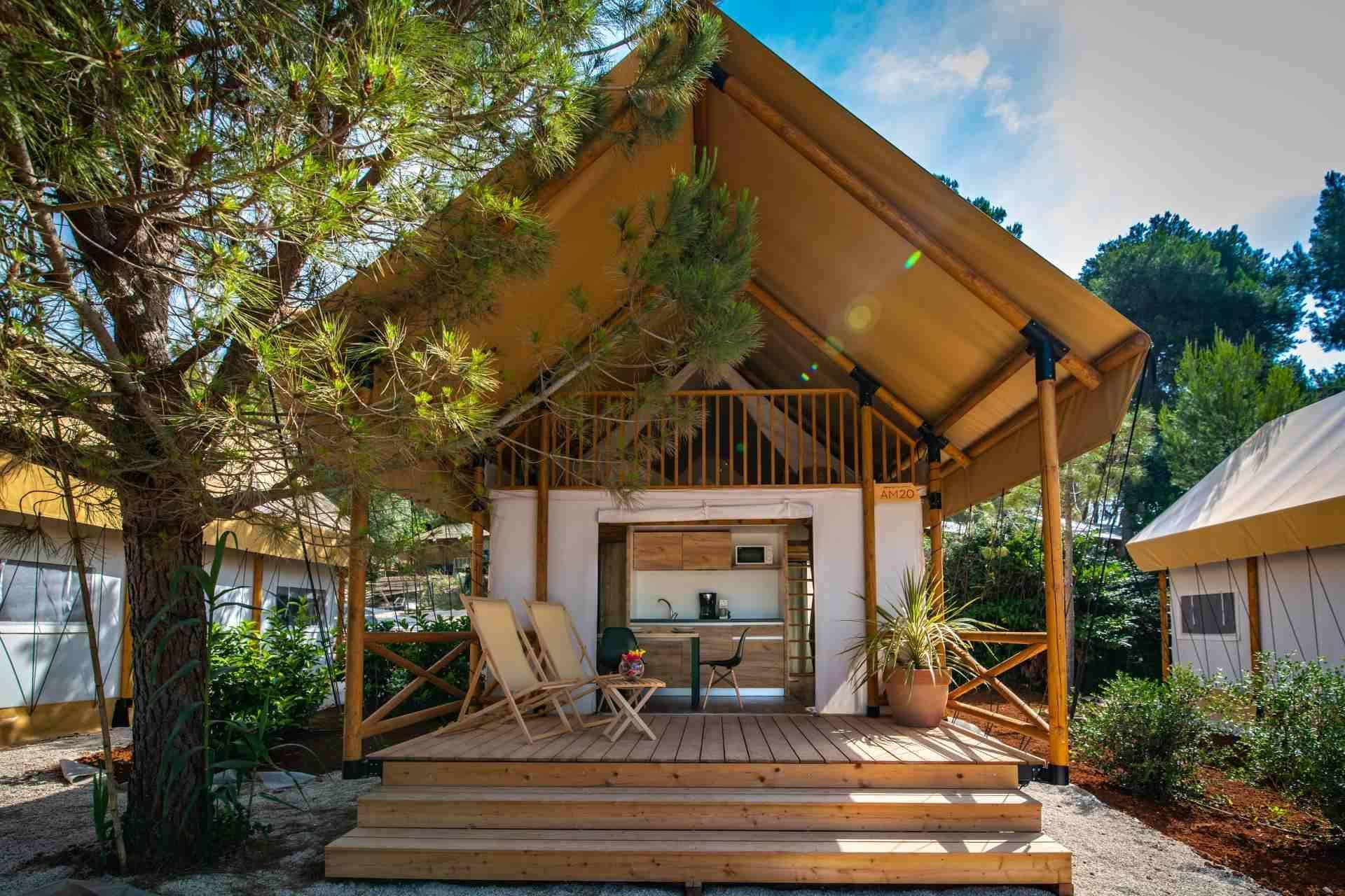 Location - Tente Safari Loft Premium - Arena One 99 Glamping
