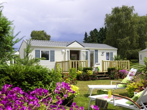 Location - Mobil-Home Privilege 3 Ch Terrasse - Camping La Baie