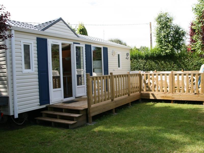 Location - Mobil-Home Privilege 2 Ch Terrasse - Camping La Baie