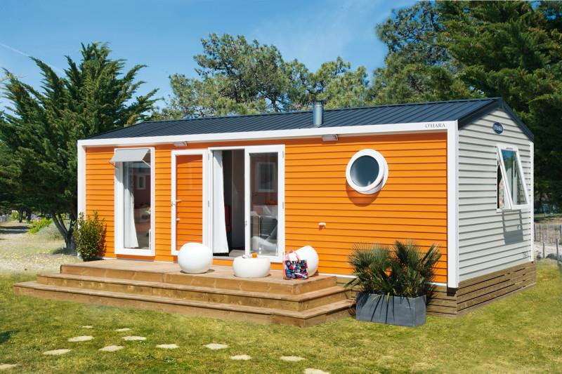Location - Mobil-Home Privilege 2/3 Ch Terrasse - Camping La Baie