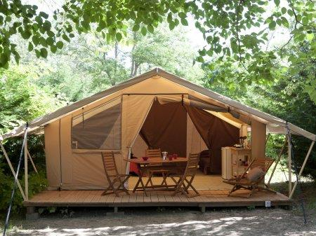 Location - Tente Équipée - Camping La Baie