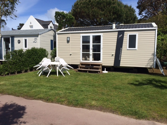 Location - Mobil-Home Relax 2 Ch 4 Prs - Camping La Baie