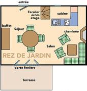 Location - Maison De Vacances Penty **** 2 Chambres - Yelloh! Village Port de Plaisance