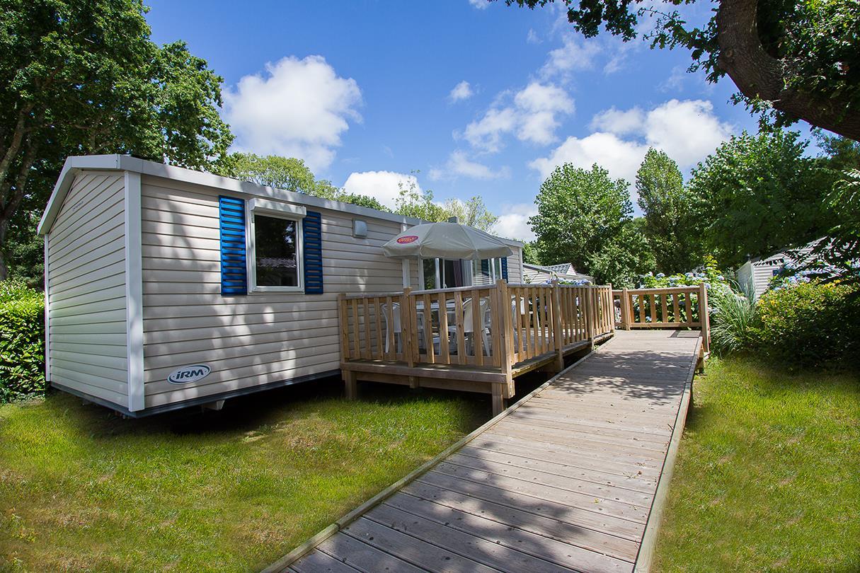 Location - Cottage Helios *** 2 Chambres Pmr - Adapté Pour Personnes À Mobilité Réduite - Yelloh! Village Port de Plaisance