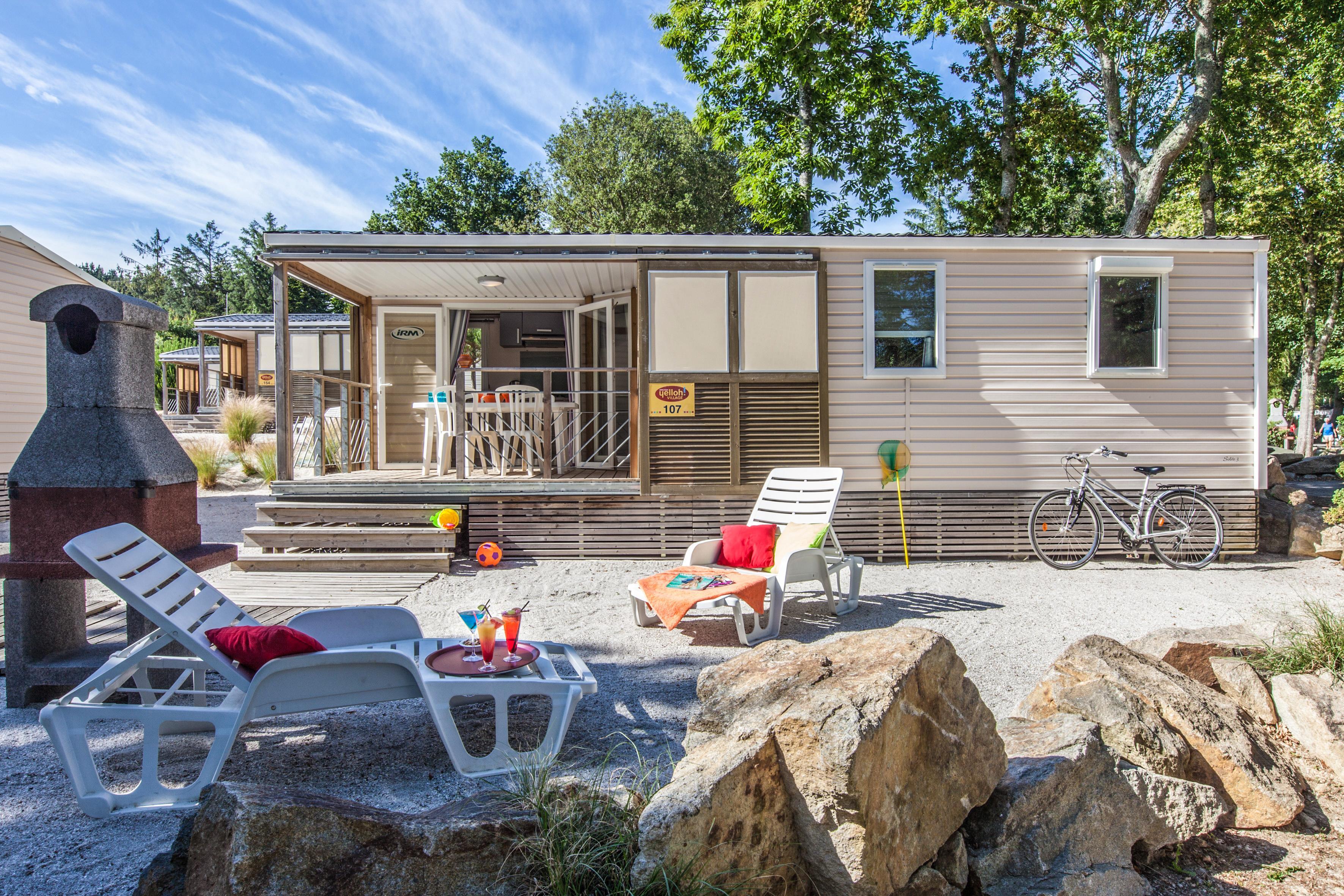 Location - Cottage Océan *** 3 Chambres - Yelloh! Village Port de Plaisance