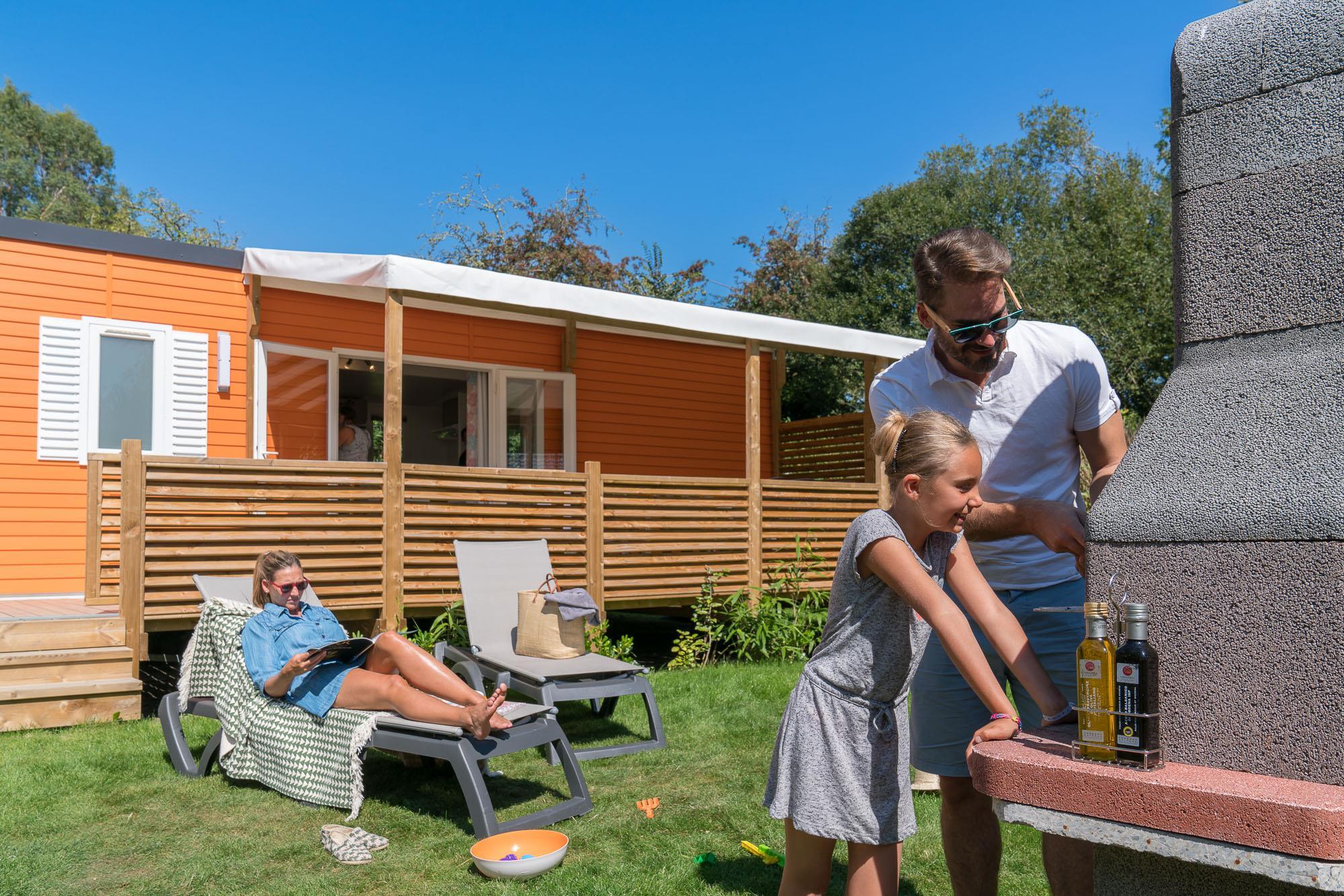 Location - Cottage Family **** 4 Chambres - Yelloh! Village Port de Plaisance