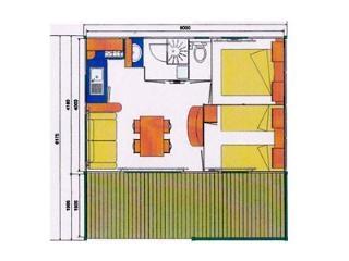Chalet 24M² - Terrasse Couverte 12M²
